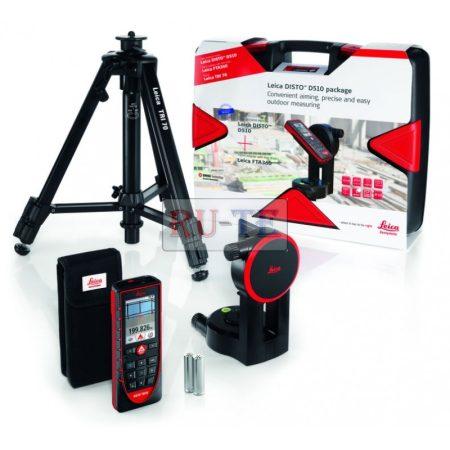 Leica Disto D510 lézeres távolságmérő - csomagban