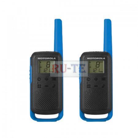 Motorola TALKABOUT T62 kék walkie talkie